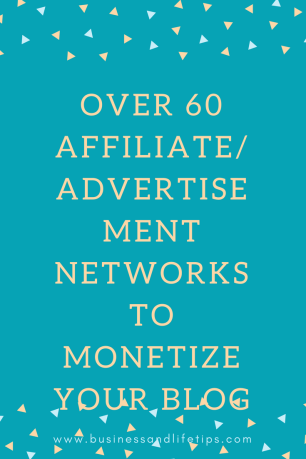 Affiliate/Advertisement Networks