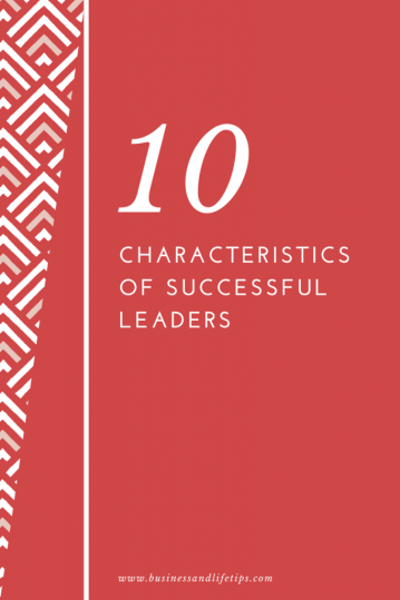 Characteristics of successful leaders