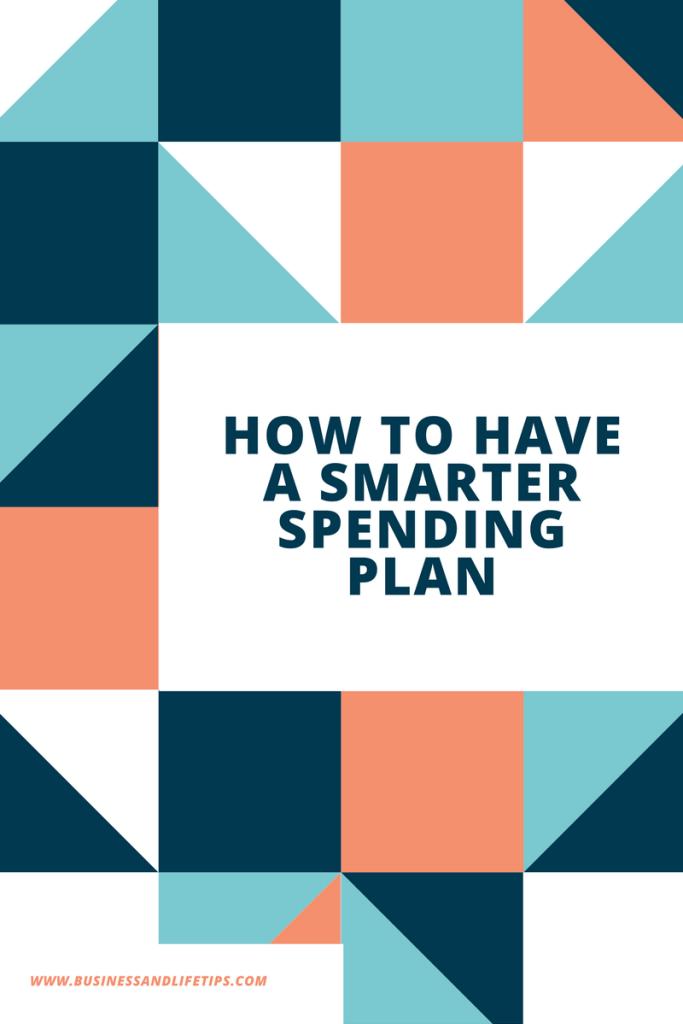Smarter Spending Plan