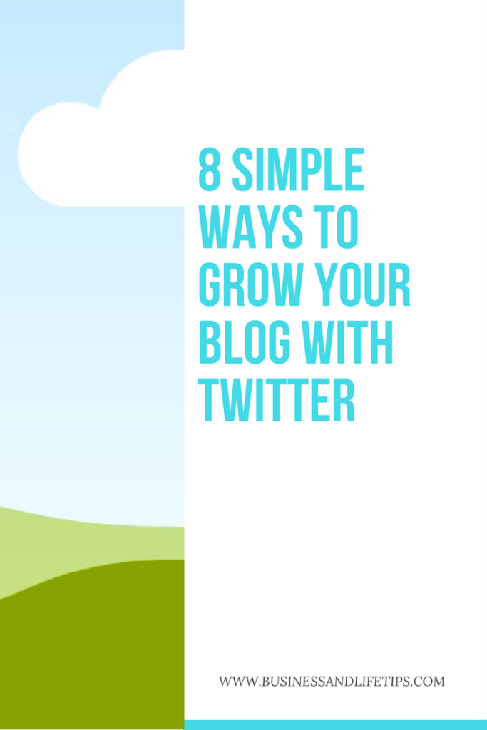 Grow your Blog with twitter