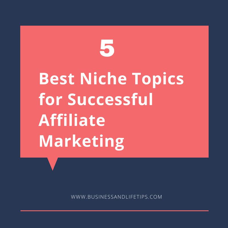 Best Niche topics for Successful Affiliate Marketing