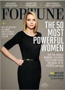 Mayer was also on Time's 100 Most Influential People list for 2013