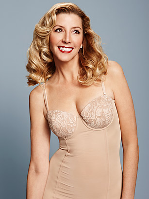 Blakely made her fortune with her innovative invention, Spanx.