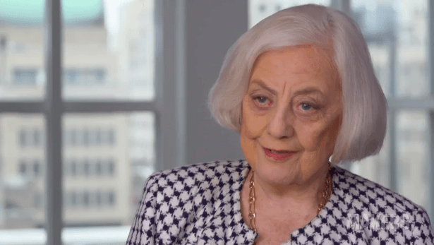Wall Street's First lady Dies at 84
