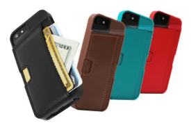 Q Card iPhone Case - A Wallet and Case in One