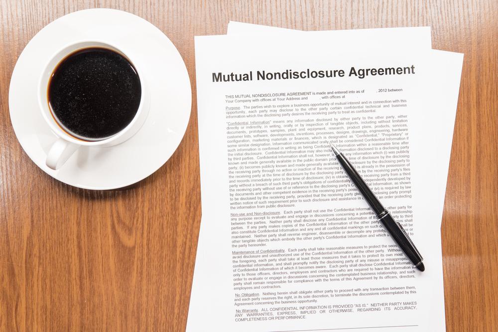 NDA contract