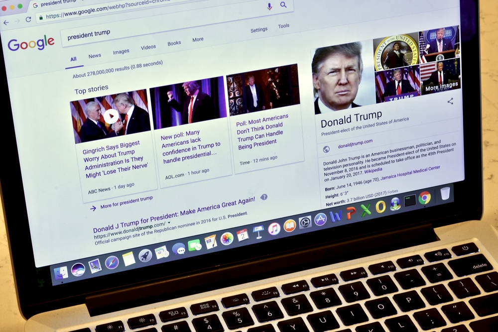 GOP Alleges Political Bias in Google Search Results