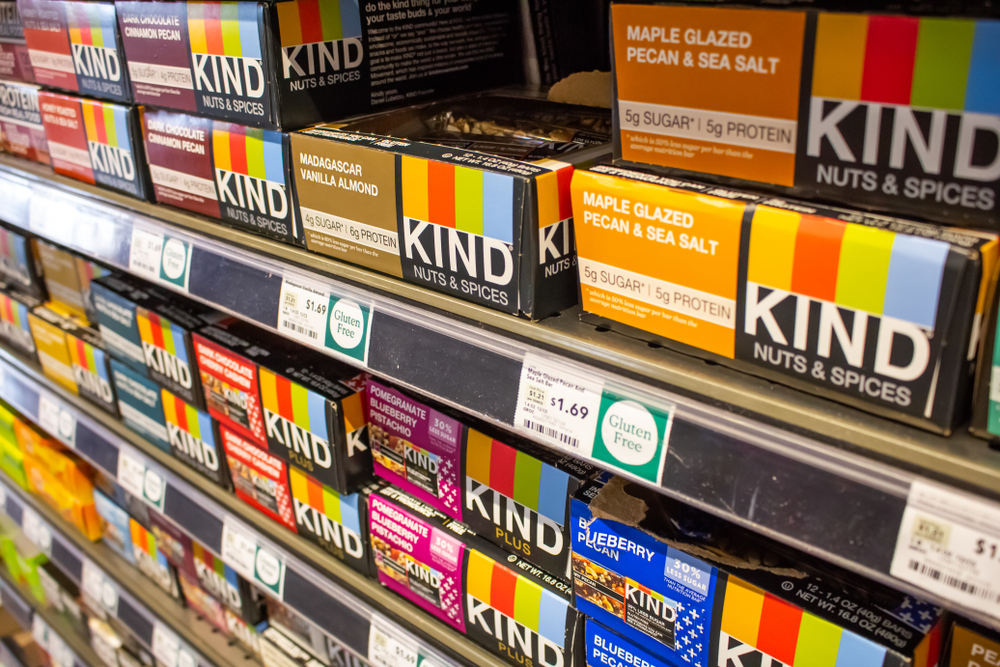 KIND is known for its granola bar-like products