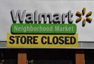 US ECONOMY RETAIL WALMART CLOSURES