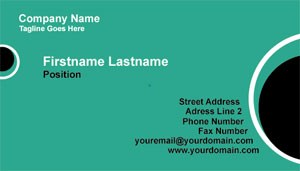 Businesscardland   Free Business Card Templates  Basic  Business Card Template