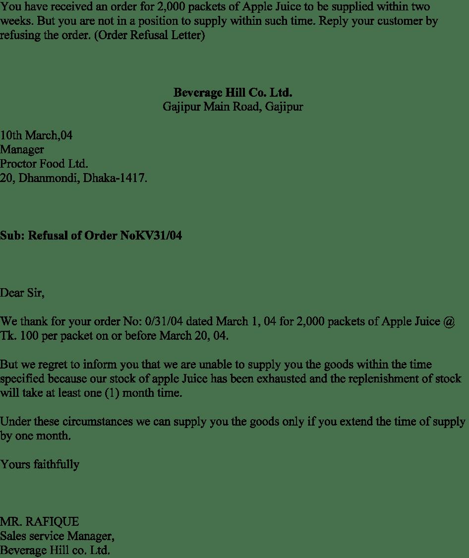 Job Rejection Letter Candidate Rejection Letter Sample Sample     wikiHow job offer rejection letter job offer letter job offer letter sample template   ltkebek jpg