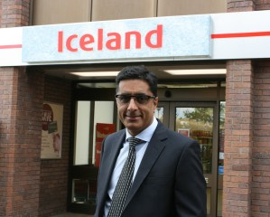 Chilling with Tarsem Dhaliwal from Iceland Foods