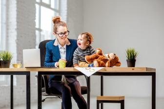 Juggling work and childcare