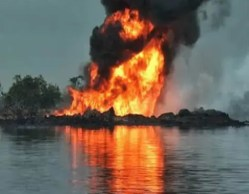 Image result for Explosions at NLNG Gas pipelines