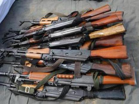 Avalanche of imported arms in peace time