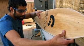 Longboard startup rolls into retail space