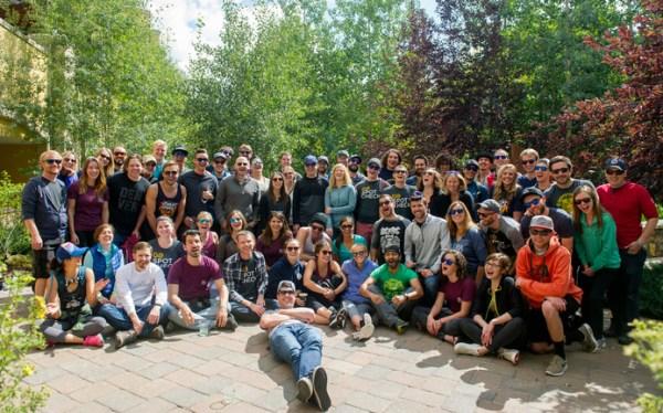 The GoSpotCheck staff in Vail, Colorado. (Courtesy GoSpotCheck)