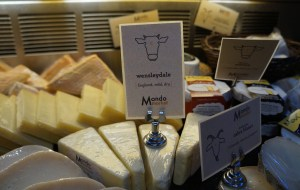 MondoMarket sells packaged foods, spices, charcuterie and cheeses - mostly imported. (Amy DiPierro)