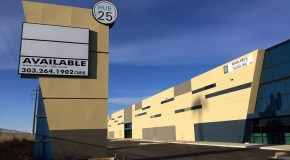 Nearly complete industrial center off I-25 lands its first lease