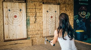 Meet the newest member of Denver's entertainment scene: Ax throwing
