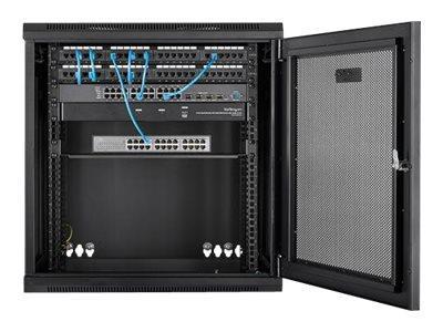 startech com 12u server rack enclosure