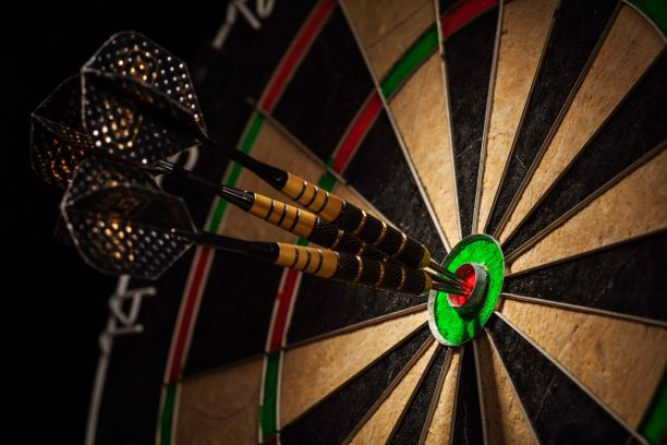 Dart Board Digital Column