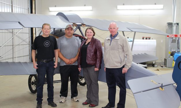 Historic Aircraft Installed at Comox Valley Airport
