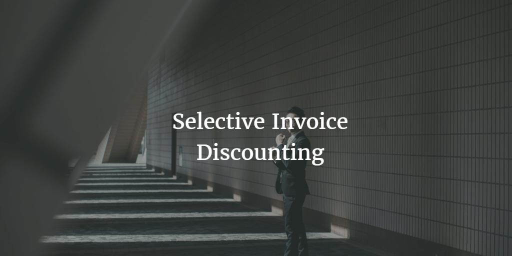 Single Invoice Discounting