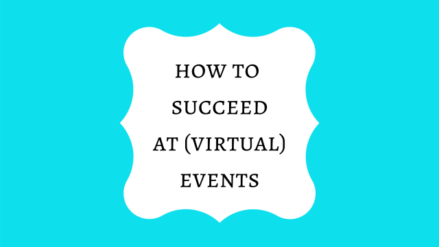 How to succeed a virtual events