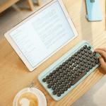 DeskLitter: Lofree: Typewriter Inspired Mechanical Keyboard