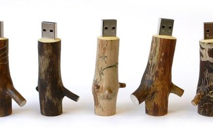 "DeskLife: Wooden <span class=""caps"">USB</span> Stick"