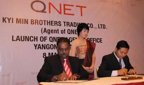 QNET Myanmar launch