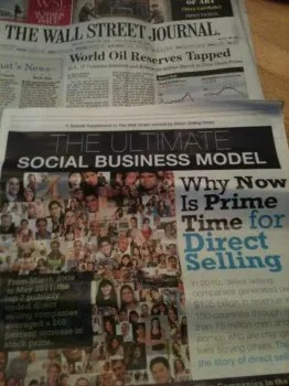 Direct Selling featured in Wall Street Journal! » Direct ...