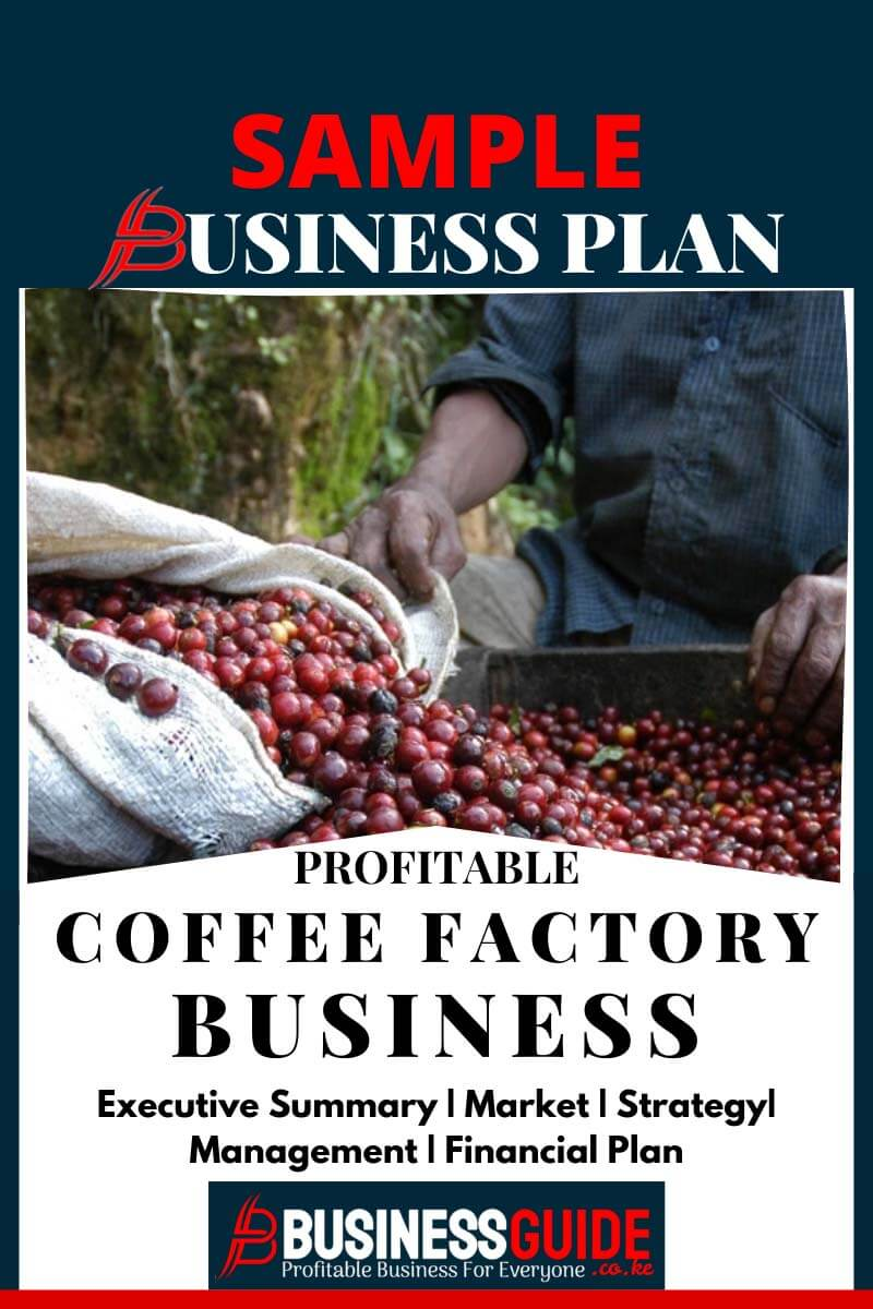 coffee factory business plan sample