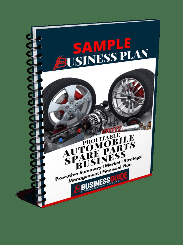 automotive business plan sample pdf