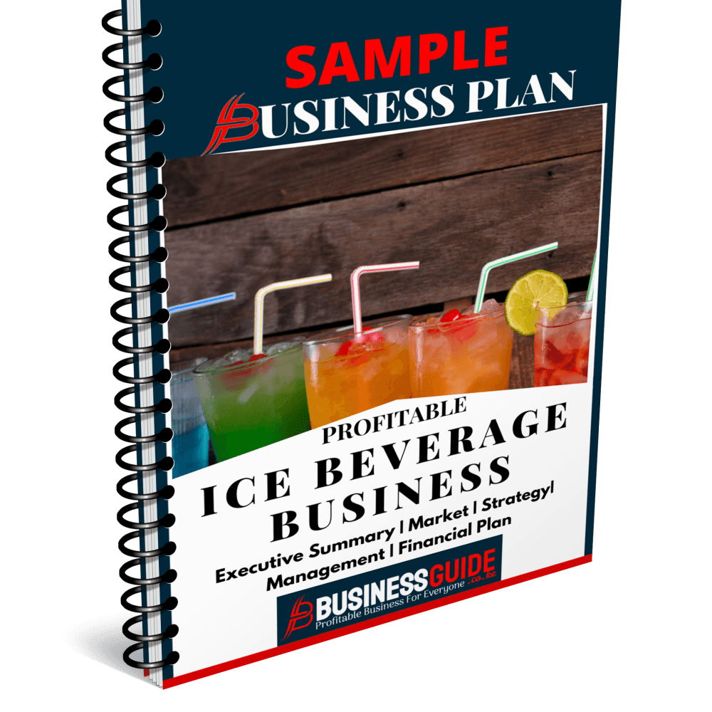 shaved ice business plan sample
