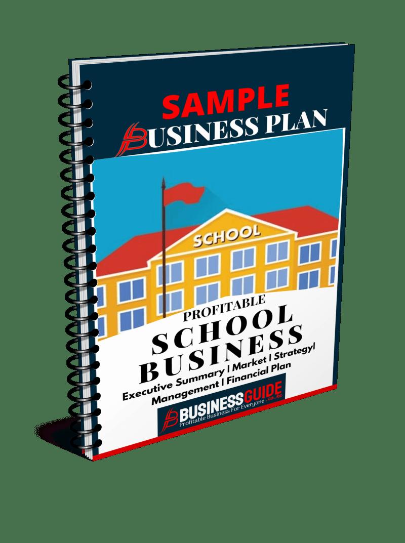 school business plan sample