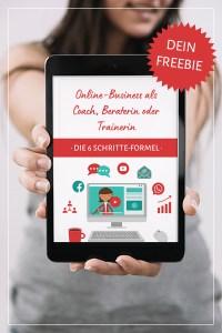 "Freebie ""Onlinebusiness als Coach, Beraterin oder Trainerin"""