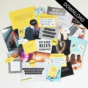 Vision Board Layout Set