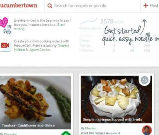 This Social Network Presents Amateur Cooks Wants To Be A Tumblr For Foodies Business Insider India