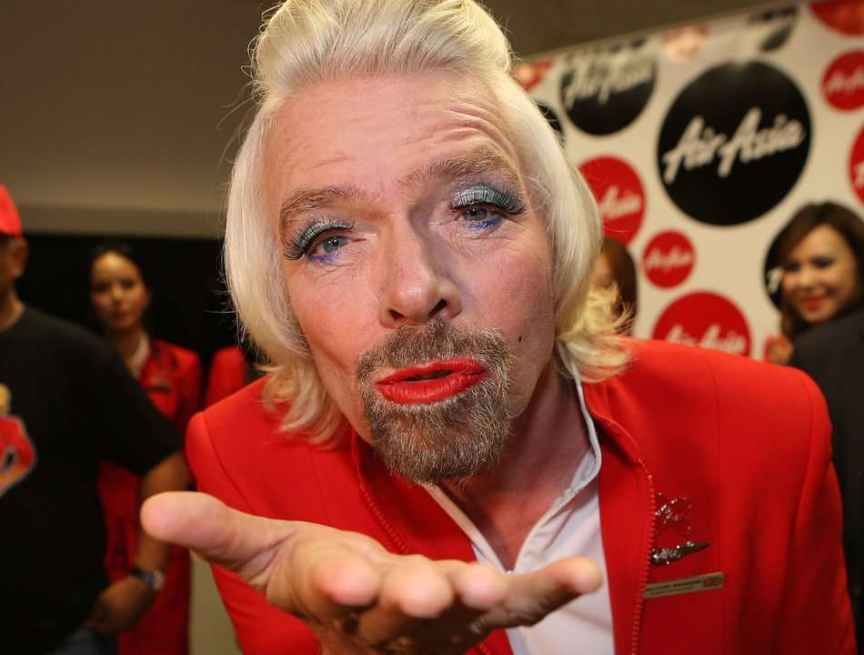 The 25 Most Absurd Photos Of Eccentric Billionaire Richard Branson