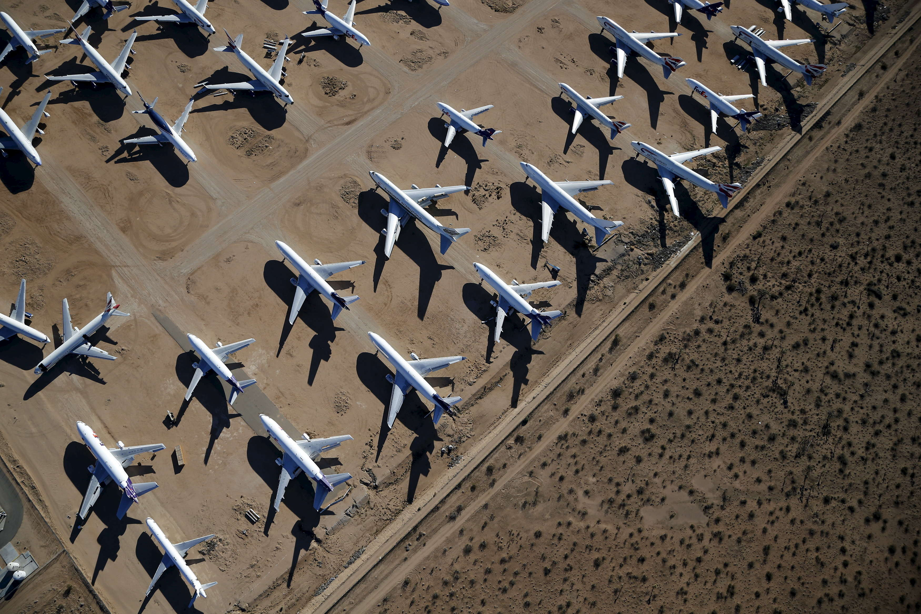 After they arrive, some planes are preserved so they can, one day, return to service with the airline or ...