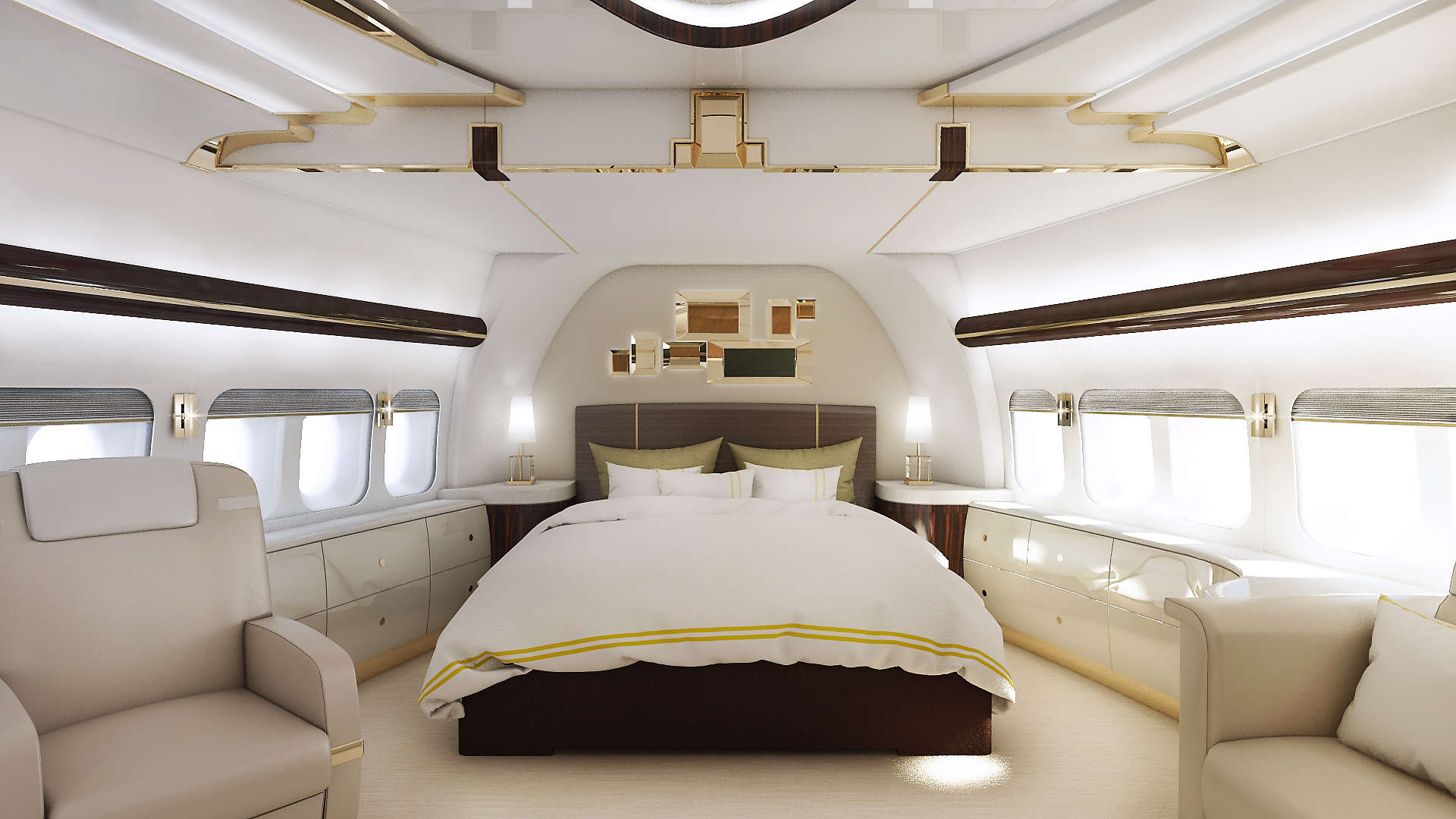 As airlines retire their 747s, one wealthy individual bought a new jumbo to be his private jet...
