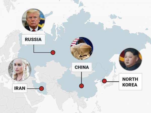 An FBI agent mapped out the countries capable of ...