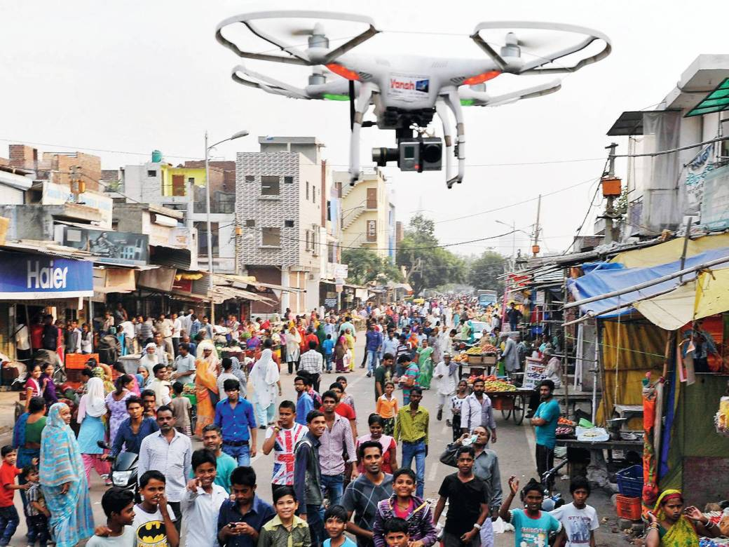 what is drones camera - how delhi police using drones to identify ...