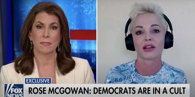 Rose McGowan, who was brought up in a cult, said ...