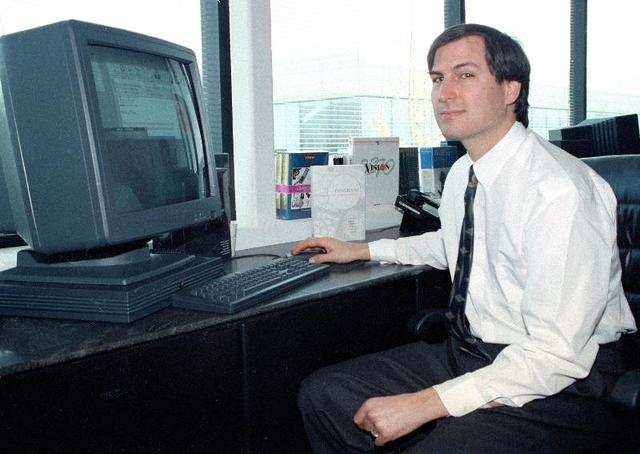Steve Jobs' NeXT found its niche selling graphically intensive PCs with cutting-edge screens to universities and banks. Apple hoped that Jobs would revitalize the Mac maker, whose stock had hit a 12-year low under Amelio's leadership and experienced crippling losses.