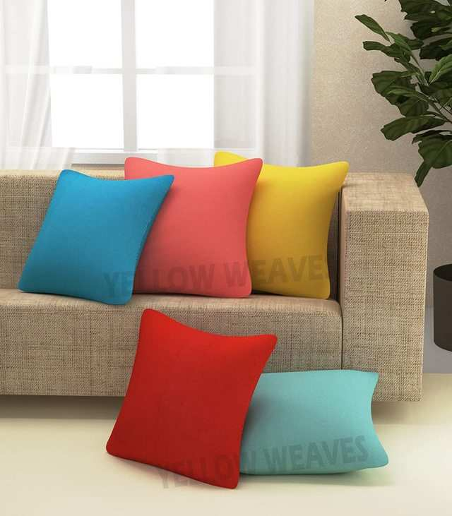 colorful cushion covers in india