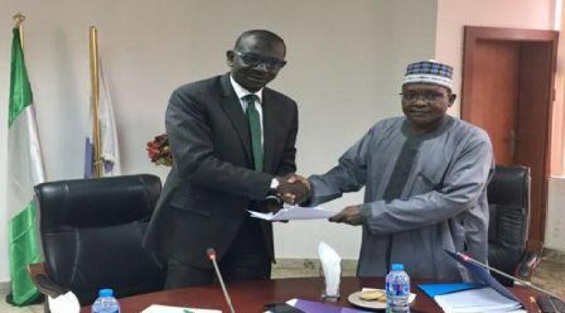 New NEXIM MD, Abubakar Bello, Assumes Office