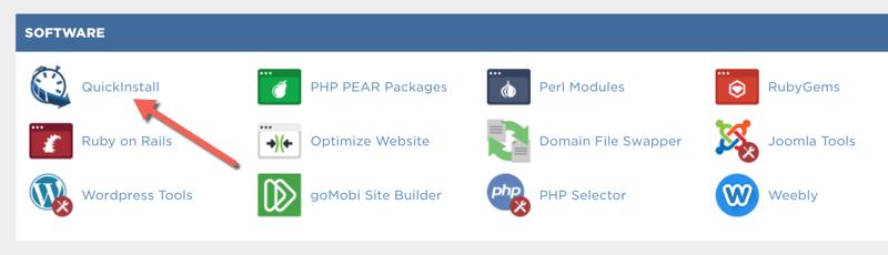 WordPress Install in Hostgator